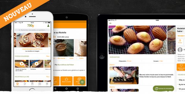 Grammes La Nouvelle Application Vient De Sortir - 750 grammes recette de cuisine
