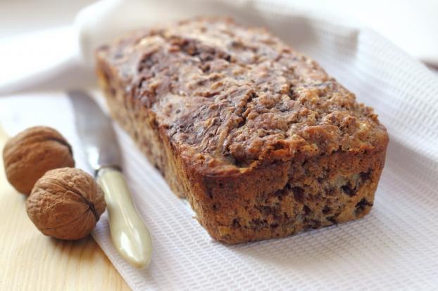 recette - cake aux noix classique | 750g