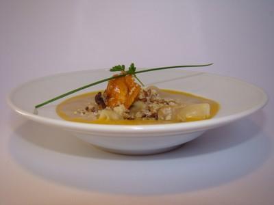 Recette raviole de caille girolles et herbes fraiches - Cuisiner les girolles fraiches ...