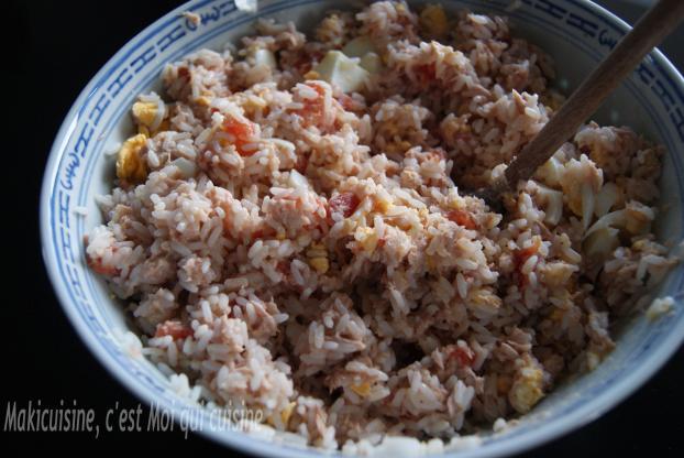 Recette Salade De Riz Thon Et Tomate 750g