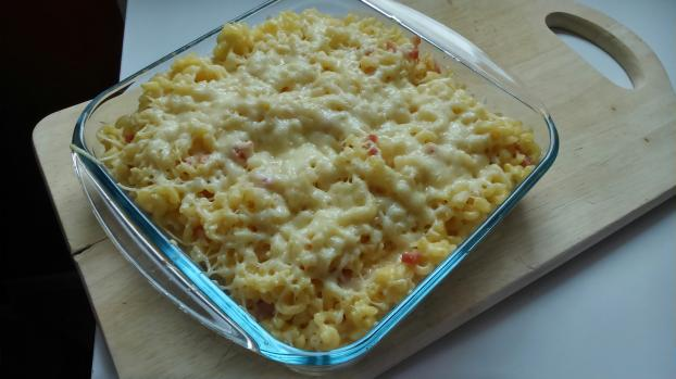 recette gratin de coquillettes fa on carbonara not e 4 5. Black Bedroom Furniture Sets. Home Design Ideas
