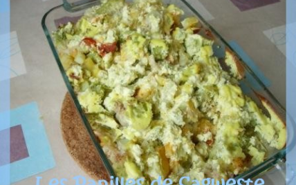 recette gratin au chou romanesco et chorizo 750g. Black Bedroom Furniture Sets. Home Design Ideas