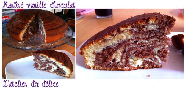 Recette Gateau Zebre Moelleux Au Chocolat 750g