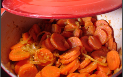 recette cocotte de carottes pic es fa on cyril lignac. Black Bedroom Furniture Sets. Home Design Ideas