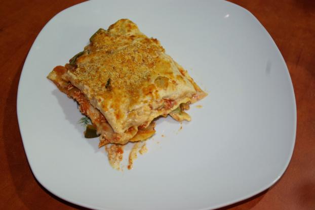 Recette - Lasagnes végétarienne aux courgettes. | 750g