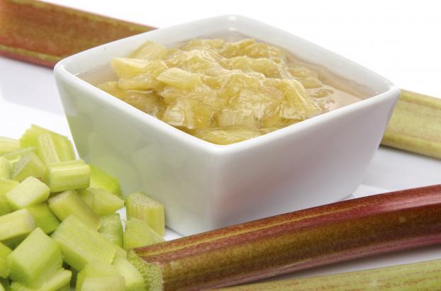 confiture de rhubarbe cuisine companion