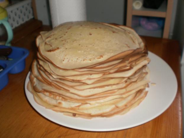 Recette cr pes recette de grand m re 750g - Pate a crepe grand mere ...