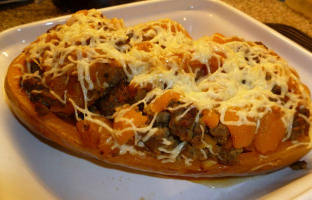 recette - courge butternut farcie | 750g