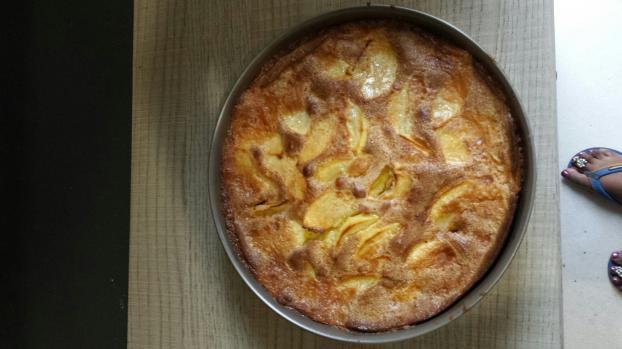 Recette gateau aux pommes simple