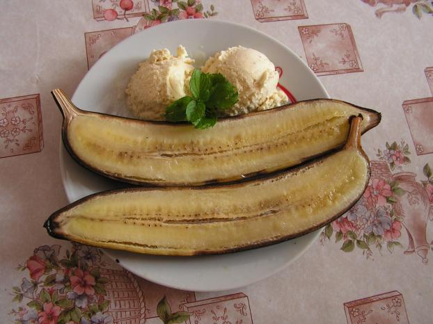 Autour de la banane : 5 recettes simples et économiques Chaud-et-froid-de-banane