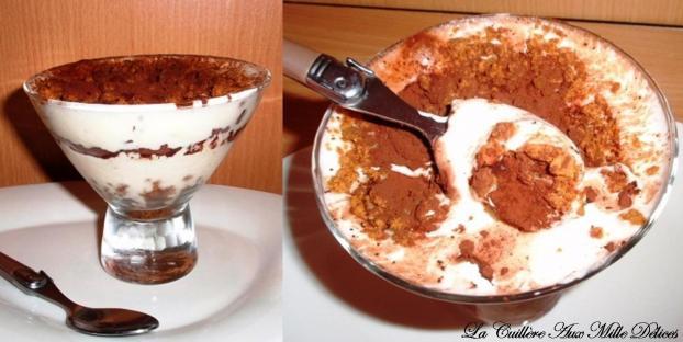 Recette tiramisu chocolat et sp culoos 750g - Tiramisu speculoos sans oeuf ...