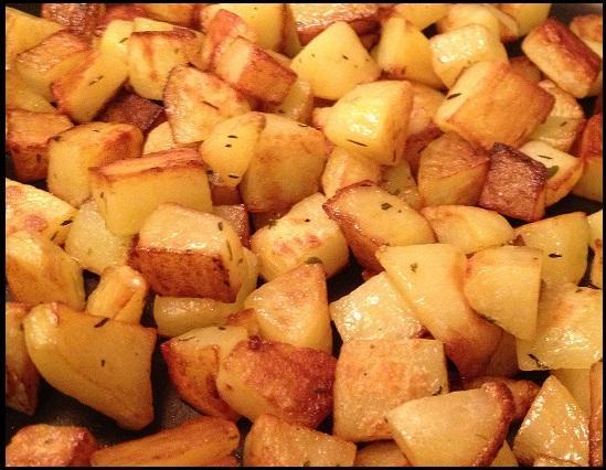 Recette pommes de terre rissol es 750g - Pomme de terre rissolees maison ...
