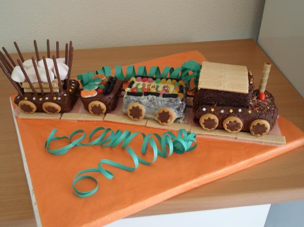 Recette Cake Au Chocolat Attention Au D 233 Part Du Train