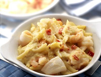 Recette pasta aux fruits de mer 750g - Spaghetti aux fruits de mer ...