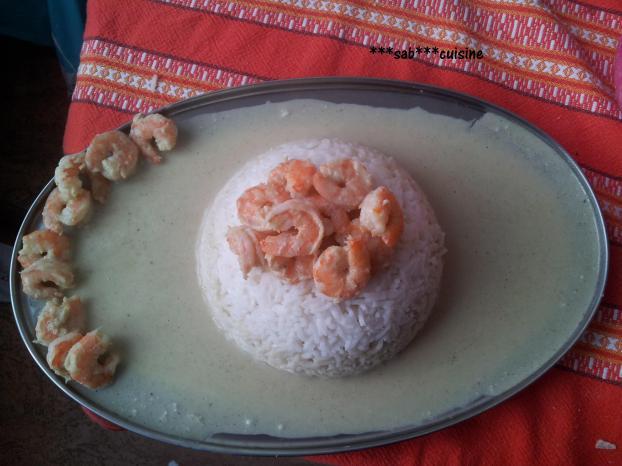 recette riz thai sauce coco et curry crevettes 750g. Black Bedroom Furniture Sets. Home Design Ideas