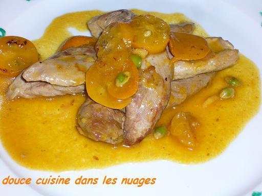 Recette aiguillettes de canard aux kumquats 750g - Comment cuisiner aiguillettes canard ...