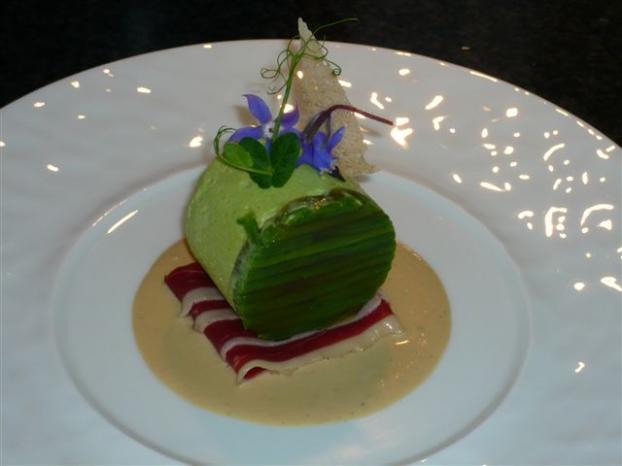 Recette mousse de haricots verts magret fum et foie - Cuisiner haricots verts surgeles ...