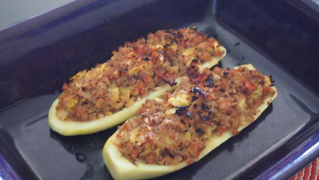 Recette courgettes farcies 750g - Courgette farcie thermomix ...
