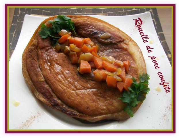 Recette rouelle de porc confite 750g - Cuisiner la rouelle de porc ...