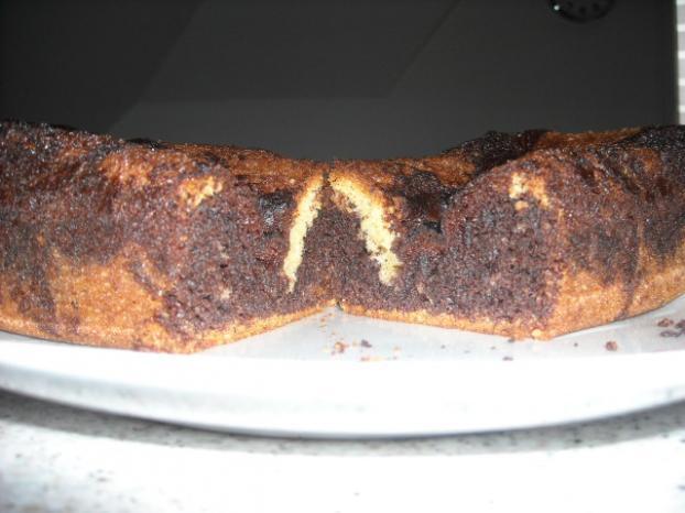 Recette Gâteau Marbré Chocolat Vanille 750g