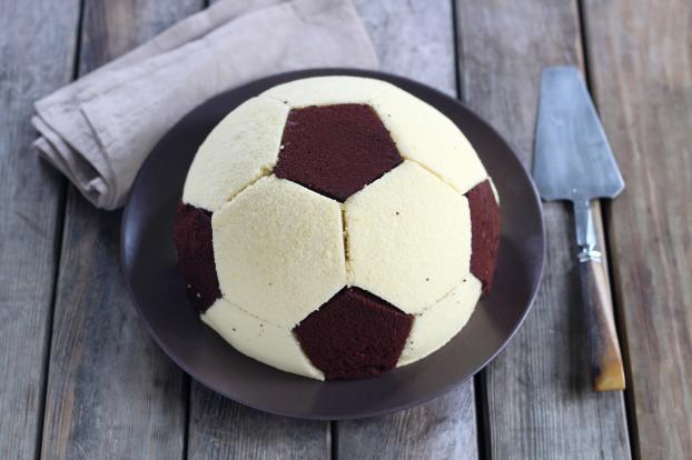 Gâteau ballon de foot