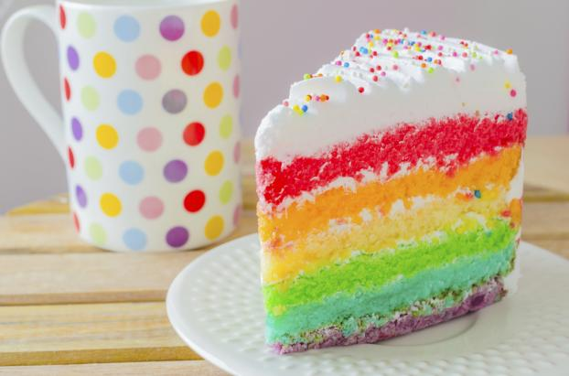 Recette Rainbow Cake En Vid 233 O