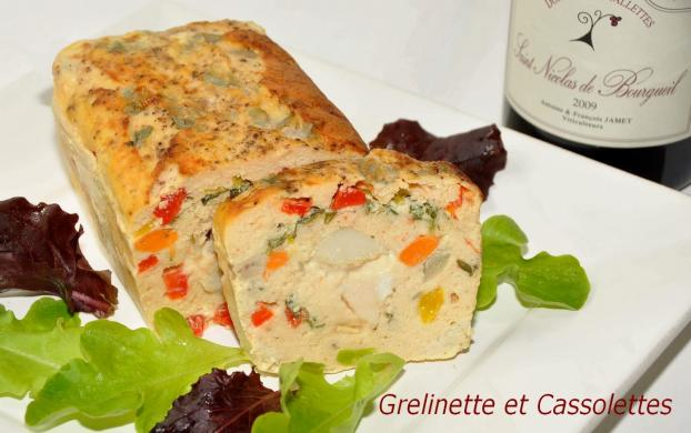 recette terrine de poisson aux saint jacques 750g. Black Bedroom Furniture Sets. Home Design Ideas