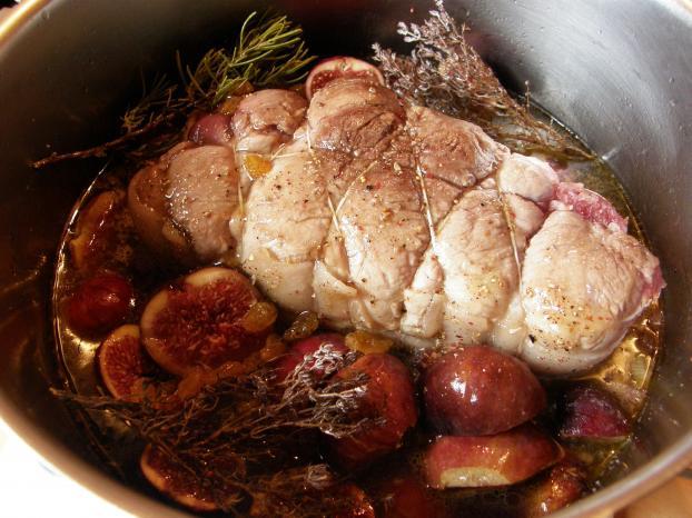 Recette r ti de porc aux figues fra ches 750g - Cuisiner des figues fraiches ...