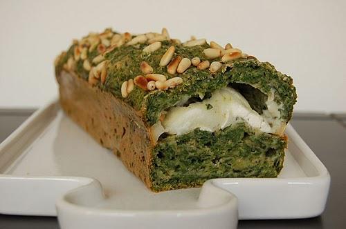 Cake Poulet Chevre Miel