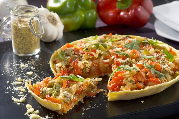 recette tarte aux l gumes du soleil 750g. Black Bedroom Furniture Sets. Home Design Ideas