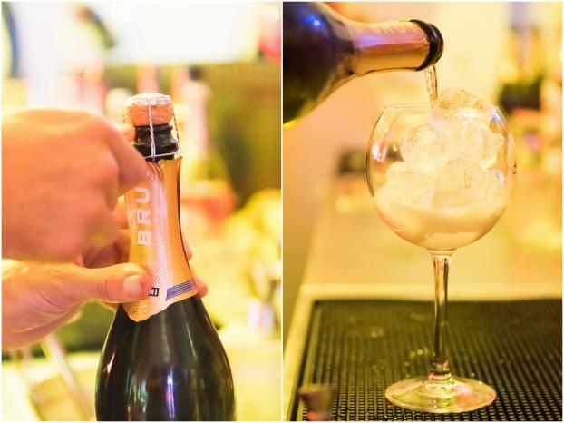 Quoi manger avec champagne apéro