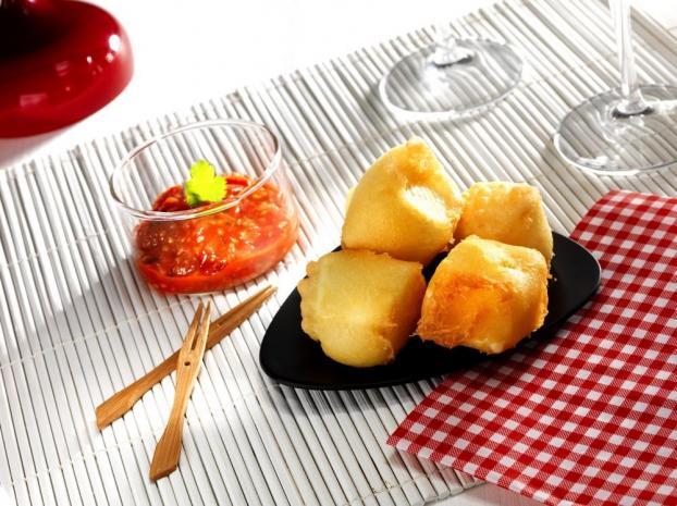 recette croquettes de brie le rustique au chutney de tomates cerises 750g. Black Bedroom Furniture Sets. Home Design Ideas