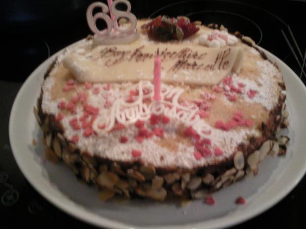 Gâteau Danniversaire Poire Chocolat