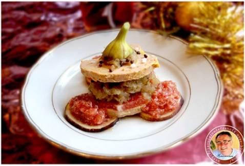 Recette foie gras aux figues et son confit d 39 oignons - Cuisiner des figues fraiches ...