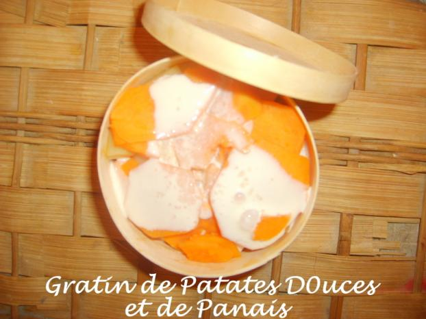 recette gratin de patates douces et de panais 750g. Black Bedroom Furniture Sets. Home Design Ideas