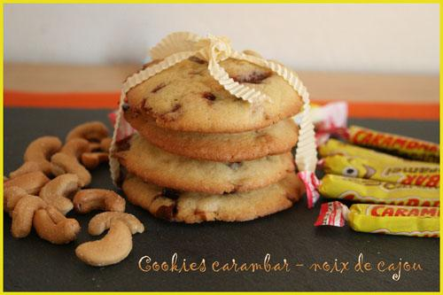 recette cookies carambar noix de cajou 750g. Black Bedroom Furniture Sets. Home Design Ideas