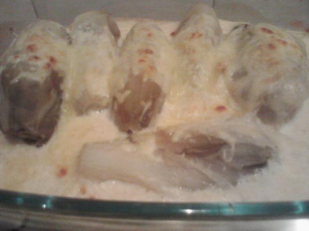 Recette chicon la sauce blanche 750g - Comment faire de la sauce blanche ...