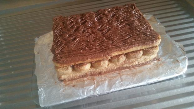 Recette b che de no l base de biscuit la cuiller 750g - Petit plat en equilibre buche de noel ...