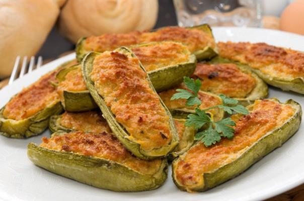 recette courgettes farcies la chair saucisse 750g. Black Bedroom Furniture Sets. Home Design Ideas