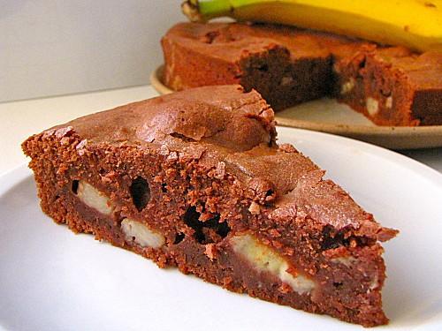 Recette Moelleux Chocolat Banane Maison 750g