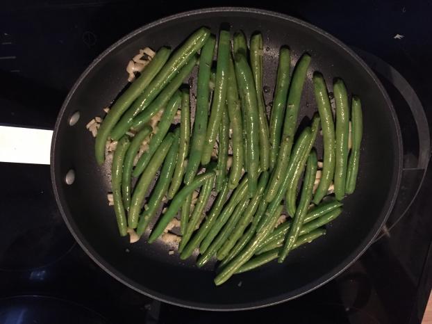 Recette haricots verts l 39 ail 750g - Cuisiner des haricots beurre ...