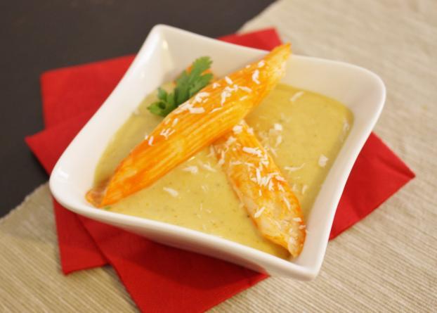 Recette coraya supr mes langouste cr me de lentilles - Cuisiner lentilles seches ...