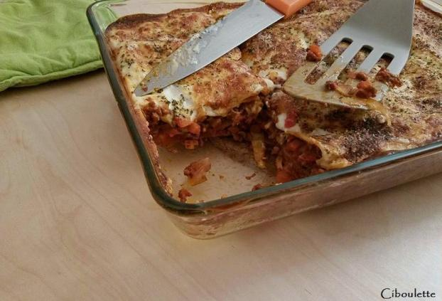 recette lasagnes la bolognaise express 750g. Black Bedroom Furniture Sets. Home Design Ideas