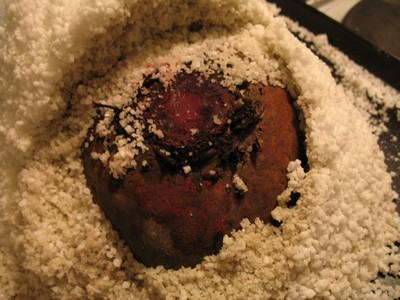 Recette betterave rouge en cro te de sel 750g - Cuisiner des betteraves rouges ...