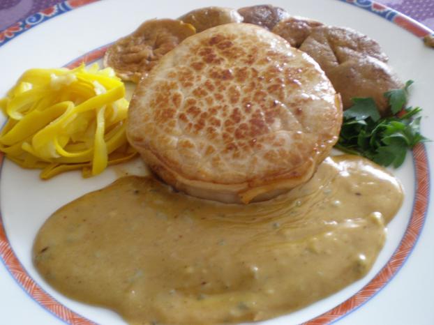 Recette - Grenadin de veau sauce moutarde | 750g on