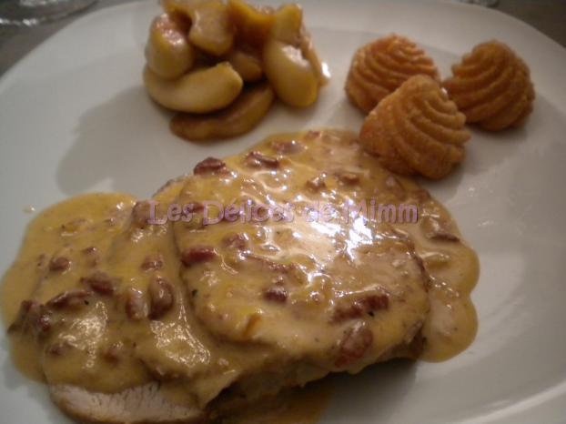 Recette roti de porc au miel en cocotte un site - Cuisiner rouelle de porc en cocotte minute ...