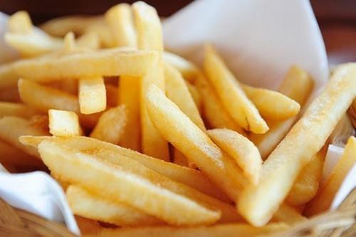 recette frites au four maison peu grasses 750g