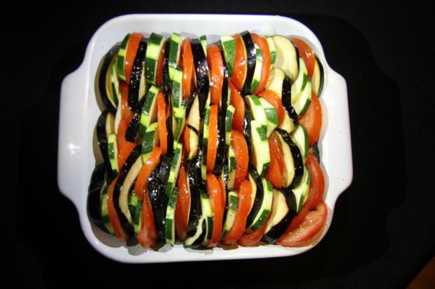 Recette tian de l gumes facile 750g - Legumes faciles a cuisiner ...
