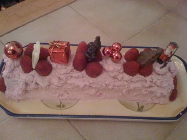 Recette buche de noel mousse fruits rouges