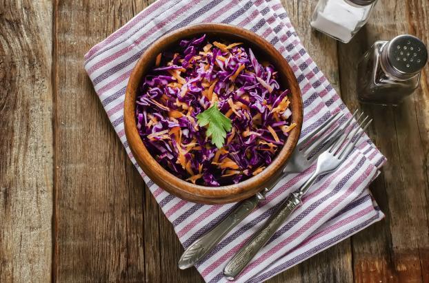 Recette Salade De Chou Rouge Et Carottes G - Cuisiner du chou rouge